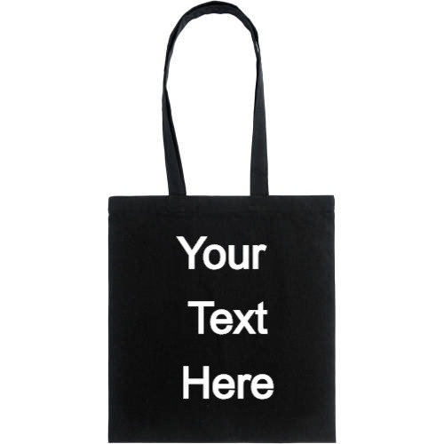 Personalised Cotton Tote Shopper Bag
