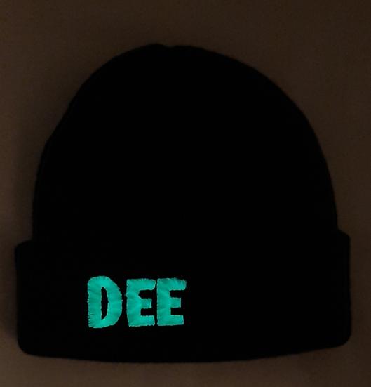 Personalised Glow in the Dark Kids Beanie Hat