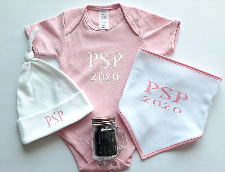 Personalised New Baby Set
