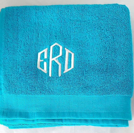 Personalised Embroidered Hand Towel