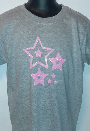Personalised Kids Glitter Tees