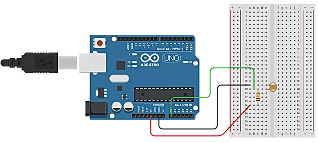 Circuito Ldr : Security alarm using ic and ldr steps