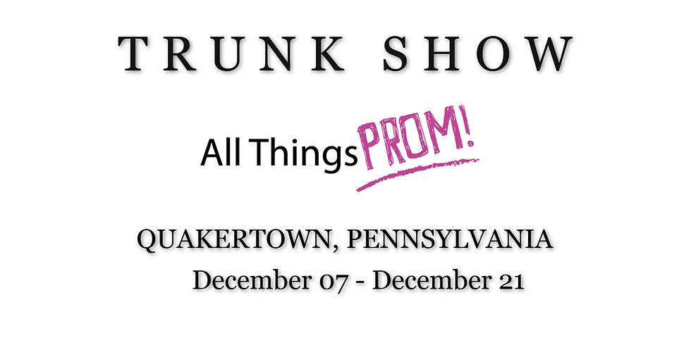 ALL THINGS BRIDAL TRUNK SHOW - QUAKERTOWN, PA