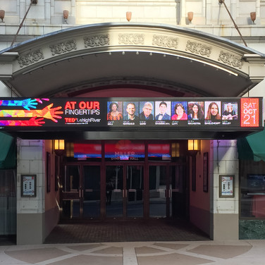 Marquee at Miller Symphony Hall