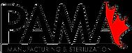 Pama manufacturing and sterilization