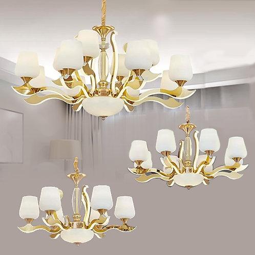 (包送貨)LED燈 不鏽鋼/亞克力發光燈 時尚風格 簡約風格 客廳房間燈