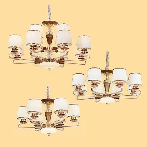 (包送貨)鐵藝風格 輕奢后現代吊燈 簡約風格 客廳房間燈(約5-7天到)