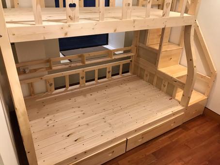 上下格床連梯櫃(可訂做尺寸)