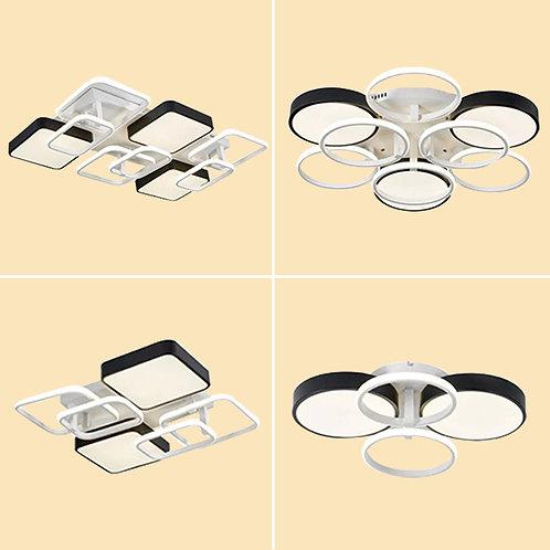 (包送貨)LED三色調光 時尚風格 天花燈 客廳臥室房間燈(約5-7天送到)