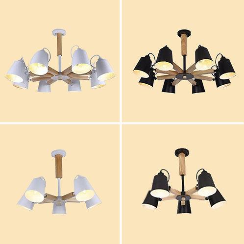 (包送貨)原木北歐風格 木質風格 北歐吊燈 客廳房間燈 (約5-7天送到)
