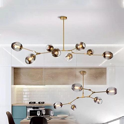 (包送貨)烤漆風格 北歐風格 時尚風格 客廳房間燈(約5-7天到)