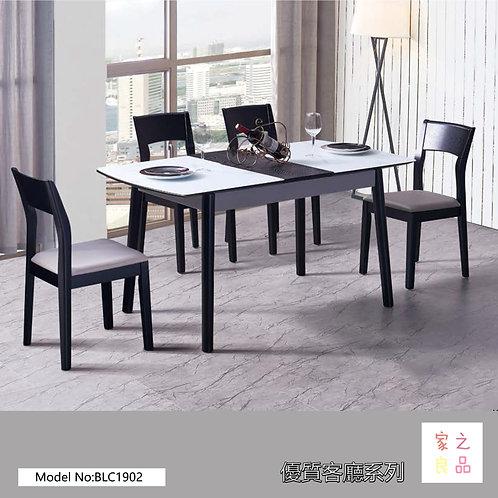 (環保全烤漆)鋼化玻璃 實木框架 餐桌餐檯 客廳餐廳櫃檯(約5-12天送到)