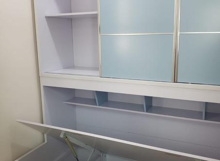 高儲物量衣櫃油壓床(可訂做尺寸)