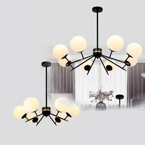 (包送貨)鐵藝風格 北歐風格 時尚風格 簡約風格 客廳房間燈(約5-7天到)