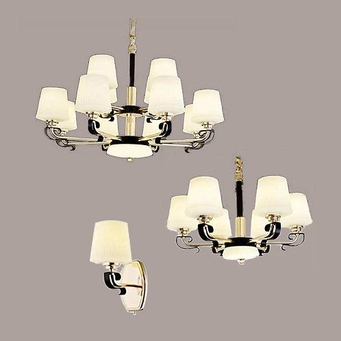 (包送貨)鐵藝電鍍/玻璃燈 北歐風格 簡約風格 壁燈 客廳房間燈(約5-7天到)
