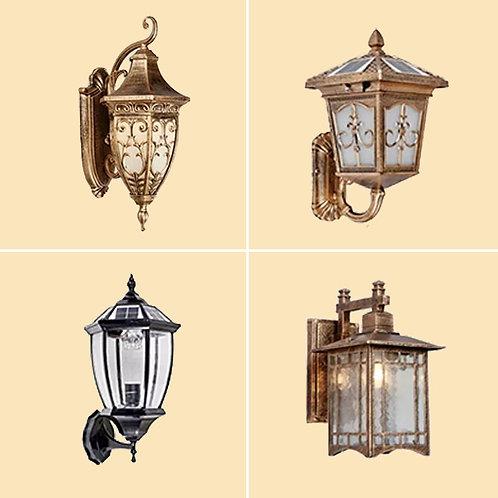 (包送貨)歐式復古風格 別墅室外庭院燈 戶外走廊過道燈 房間壁燈(約5-7天送到)