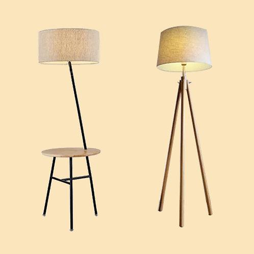 (包送貨)原木北歐風格 木質風格 臥室書房玄關坐地燈(約5-7天送到)
