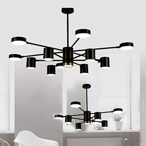 (包送貨)LED雙色 鐵藝噴漆 北歐風格 時尚風格 客廳房間燈(約5-7天到)