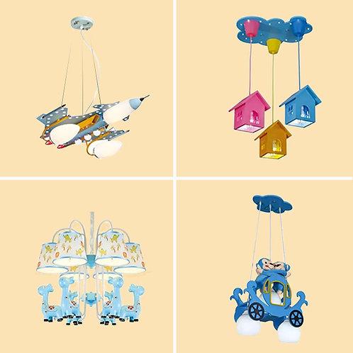 (包送貨)兒童風格 卡通模型燈 天花燈 臥室房間燈 (約5-7天送到)