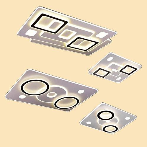 (包送貨)LED三色調光 簡約風格 天花燈 客廳臥室房間燈 (約5-7天送到)