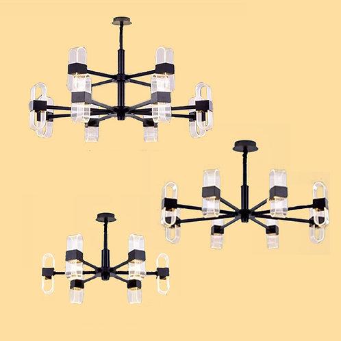 (包送貨)LED燈 北歐風格 鋁材吊燈 客廳房間燈(約5-7天到)