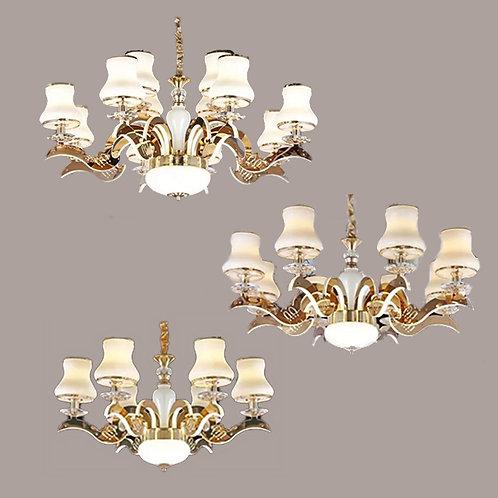 (包送貨)LED燈 不鏽鋼/亞克力發光燈 時尚風格 客廳房間燈(約5-7天到)