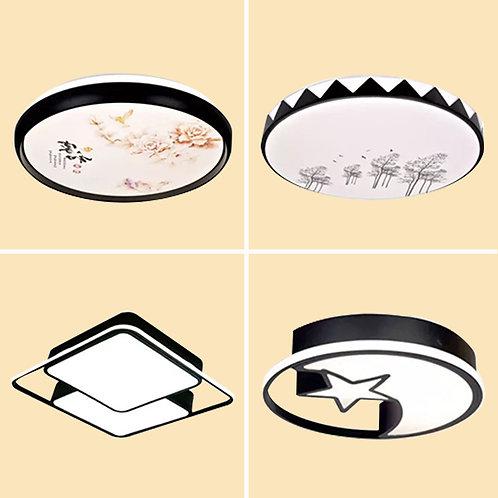 (包送貨)LED三色調光 簡約風格 時尚風格 天花燈 客廳臥室房間燈 (約5-7天送到)