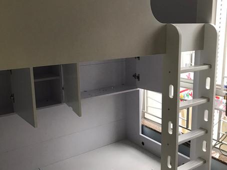 多功能儲物上下格床(可訂做尺寸)