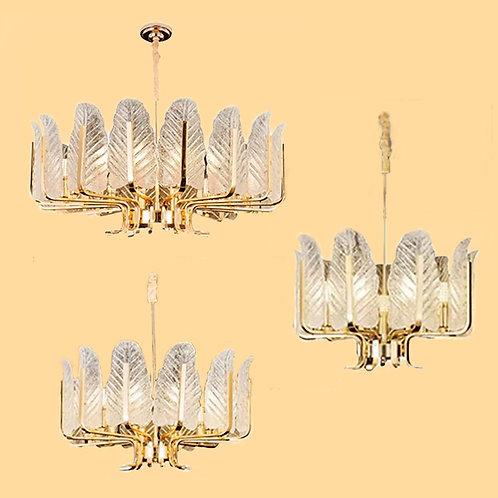 (包送貨)鐵藝電鍍燈 輕奢后現代吊燈 時尚風格 客廳房間燈(約5-7天到)