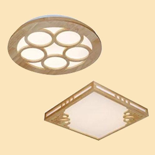 (包送貨)原木北歐風格 木質風格 天花燈 客廳房間燈 (約5-7天送到)