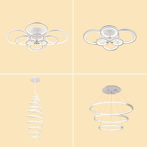 (包送貨)LED光 現代簡約風格 天花燈 客廳臥室房間燈 (約5-7天送到)