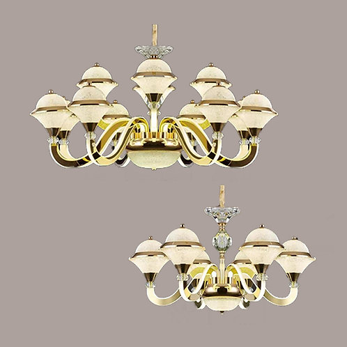 (包送貨)LED中性光燈 亞克力發光吊燈 時尚風格 客廳房間燈(約5-7天到)