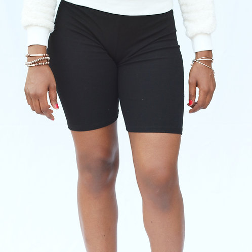 Staple Biker Shorts - Low Waisted