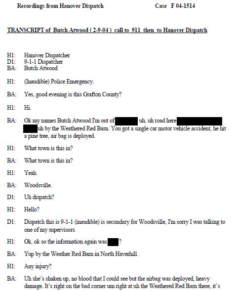Butch Atwood 911 Transcript P1