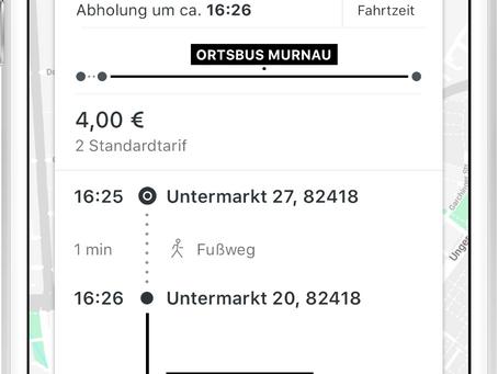 Murnauer Ortsbus auf Bestellung: Startschuss für Leuchtturmprojekt omobi