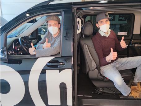 Murnauer Ortsbus-Betreiber omobi startet FFP2-Masken Spendenaktion