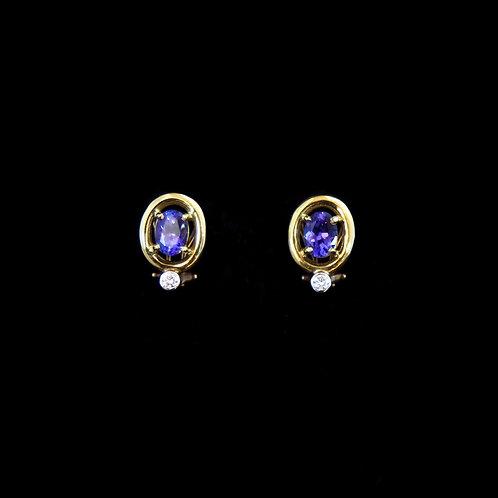 Michael Sherman Tanzanite Earrings