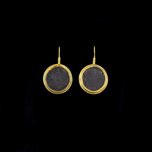 ARA 24K Oxidized Earrings