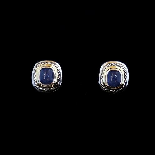 David Yurman Dyed Chalcedony Earrings