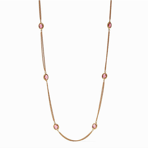 Rouge Calypso Station Necklace