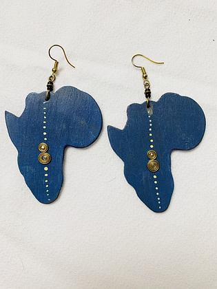 """Maasai"" Africa Earrings"