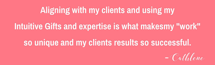 Aligning with my clients and using my in