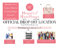 Hopefull Handbags Official Drop Off Loca