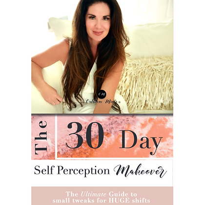 The 30 Day Self Perception Makeover Transformation Book