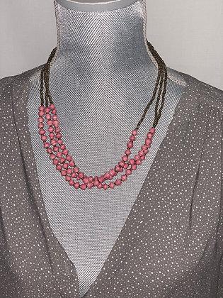 Handmade 3 Strand Necklace/Bracelet