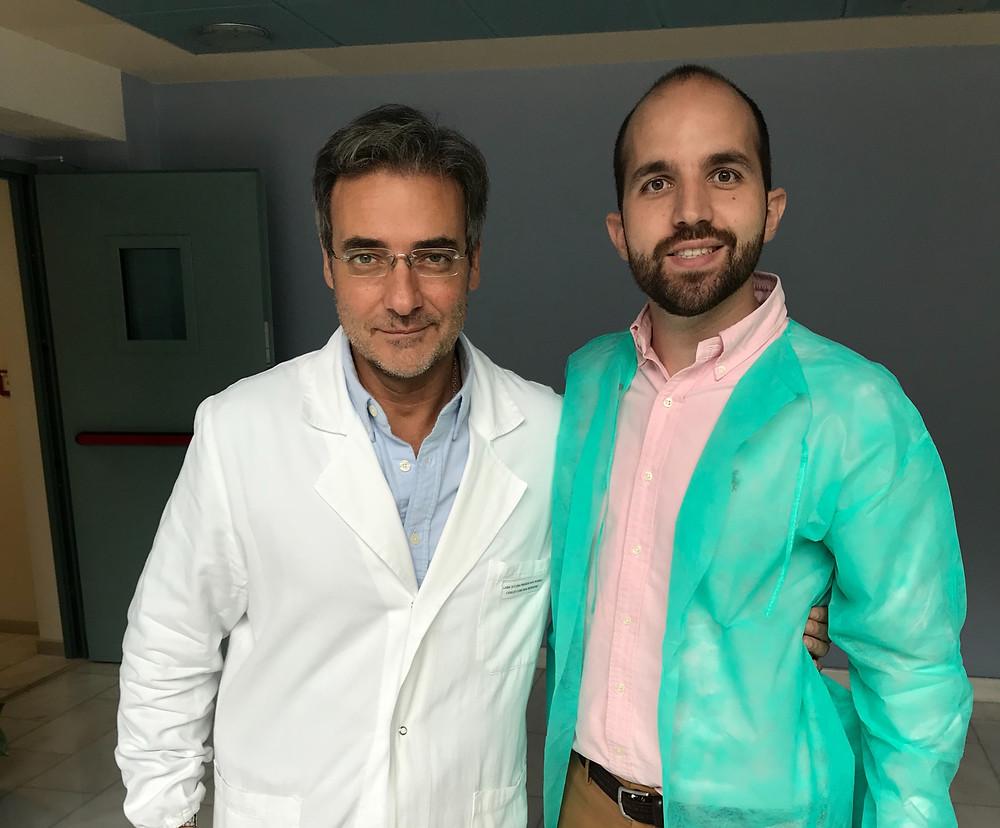 Dr. Adrián Gaspar & dr. Angel Arturo Blanes. Ginecólogos expertos en láser ginecológico Valencia.