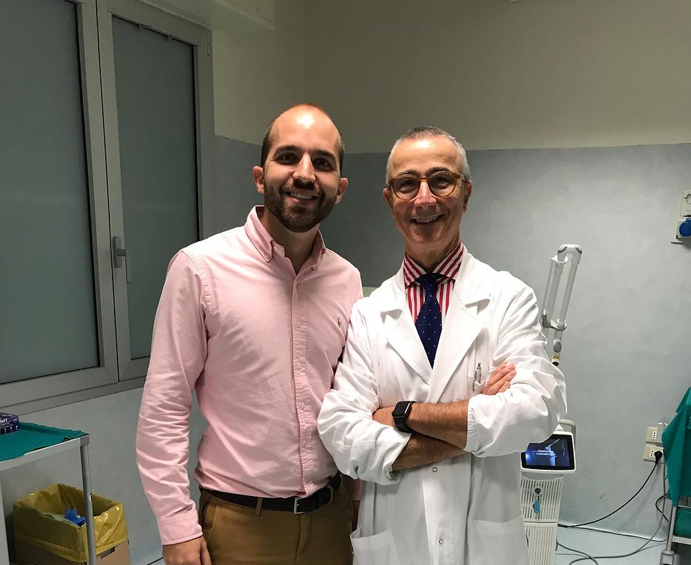 dr. Gabacciani & dr. Angel Arturo Blanes. Ginecologos expertos en láser ginecológico Valencia.