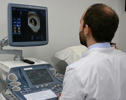 Imagen de ginecología en un ordenador