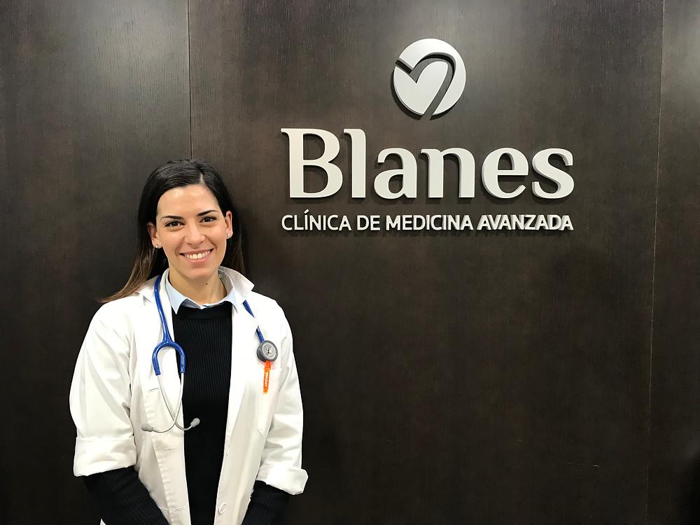 dra Elena Álvaro Clínica Blanes Pediatría