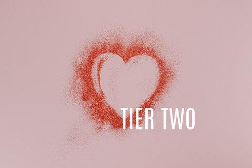 Tier Two Fillers (Refyne, Defyne, Kysse, Lyft, Silk, Vollure or Radiesse)